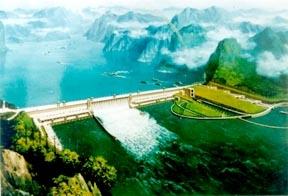 Three Gorges Dam & Yangtze River